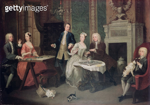 <b>Title</b> : Family Party<br><b>Medium</b> : <br><b>Location</b> : Private Collection<br> - gettyimageskorea