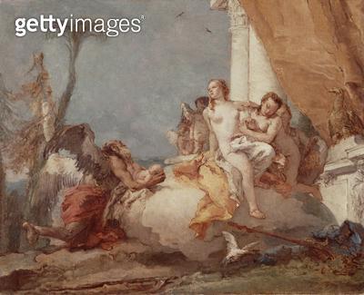 <b>Title</b> : Cronus Entrusting Cupid to Venus<br><b>Medium</b> : <br><b>Location</b> : Private Collection<br> - gettyimageskorea