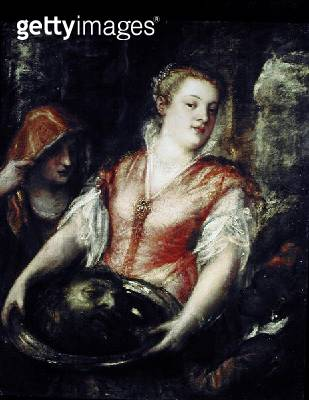<b>Title</b> : Salome with the head of John the Baptist<br><b>Medium</b> : <br><b>Location</b> : Private Collection<br> - gettyimageskorea