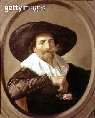 Portrait of a man/ possibly Pieter Tjark - gettyimageskorea