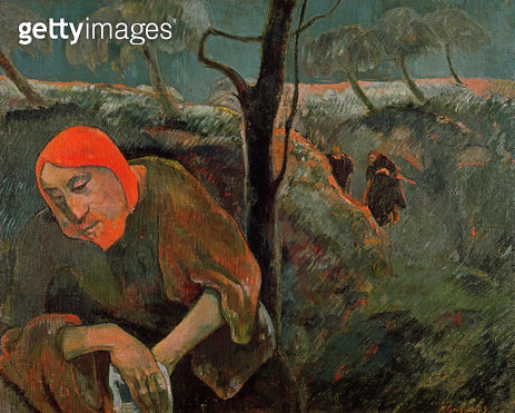 <b>Title</b> : The Agony in the Garden, 1889 (oil on canvas)Additional InfoChrist in the garden of olives;<br><b>Medium</b> : oil on canvas<br><b>Location</b> : Norton Gallery, Palm Beach, Florida, USA<br> - gettyimageskorea