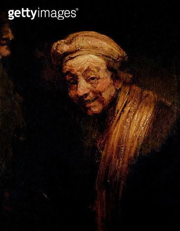 <b>Title</b> : Self Portrait, c.1668-9<br><b>Medium</b> : oil on canvas<br><b>Location</b> : Wallraf-Richartz Museum, Cologne, Germany<br> - gettyimageskorea