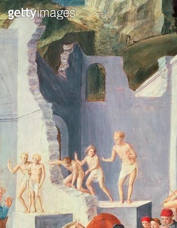 <b>Title</b> : Adoration of the Magi, (detail)<br><b>Medium</b> : <br><b>Location</b> : Kress Collection, Washington D.C., USA<br> - gettyimageskorea