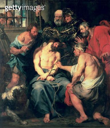 <b>Title</b> : The Crowning with Thorns<br><b>Medium</b> : <br><b>Location</b> : Prado, Madrid, Spain<br> - gettyimageskorea