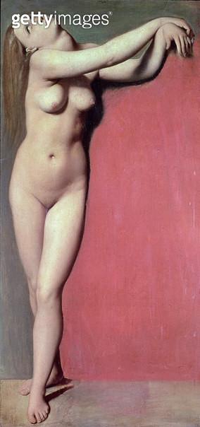 <b>Title</b> : Angelique<br><b>Medium</b> : oil on canvas<br><b>Location</b> : Louvre, Paris, France<br> - gettyimageskorea