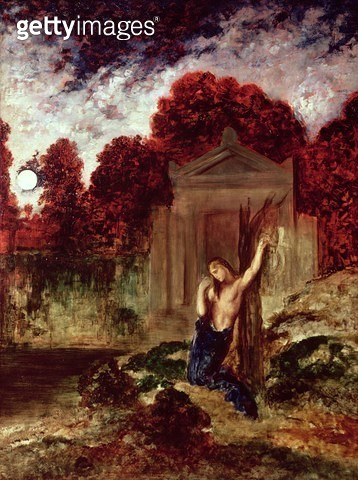 <b>Title</b> : Orpheus at the Tomb of Eurydice<br><b>Medium</b> : <br><b>Location</b> : Musee Gustave Moreau, Paris, France<br> - gettyimageskorea