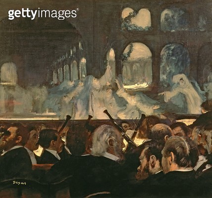 <b>Title</b> : The ballet scene from Meyerbeer's opera 'Robert le Diable', 1876<br><b>Medium</b> : oil on canvas<br><b>Location</b> : Victoria & Albert Museum, London, UK<br> - gettyimageskorea