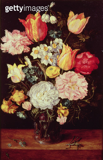 <b>Title</b> : Flower Piece<br><b>Medium</b> : <br><b>Location</b> : Private Collection<br> - gettyimageskorea