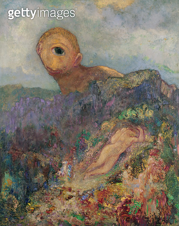 <b>Title</b> : The Cyclops, c.1914 (oil on canvas)<br><b>Medium</b> : oil on canvas<br><b>Location</b> : Rijksmuseum Kroller-Muller, Otterlo, Netherlands<br> - gettyimageskorea