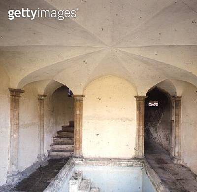 <b>Title</b> : Interior of the Bath House, built in c.1760 (photo)<br><b>Medium</b> : <br><b>Location</b> : Corsham Court, Wiltshire<br> - gettyimageskorea