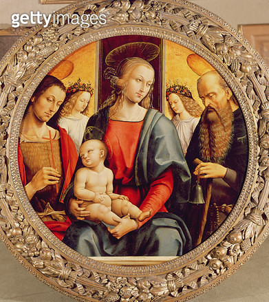 Virgin and Child - gettyimageskorea