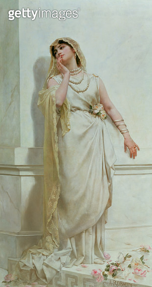 <b>Title</b> : The Young Bride<br><b>Medium</b> : <br><b>Location</b> : Roy Miles Fine Paintings<br> - gettyimageskorea