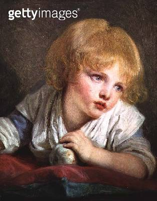 <b>Title</b> : Child with an Apple, late 18th century (oil on canvas)<br><b>Medium</b> : oil on canvas<br><b>Location</b> : National Gallery, London, UK<br> - gettyimageskorea