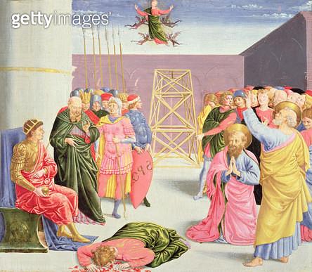 <b>Title</b> : St. Peter and Simon Magus<br><b>Medium</b> : <br><b>Location</b> : Metropolitan Museum of Art, New York, USA<br> - gettyimageskorea