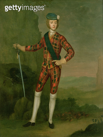 <b>Title</b> : Prince Charles Edward Stuart<br><b>Medium</b> : <br><b>Location</b> : Private Collection<br> - gettyimageskorea