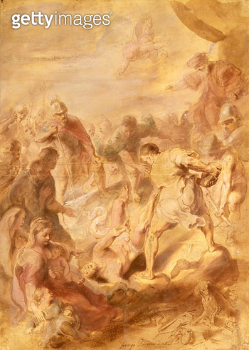 <b>Title</b> : The Martyrdom of St.Vitalis<br><b>Medium</b> : <br><b>Location</b> : Collection of the Earl of Pembroke, Wilton House, Wilts.<br> - gettyimageskorea