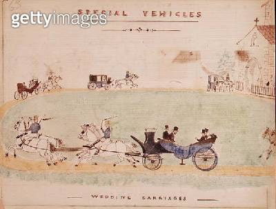 Wedding Carriages - gettyimageskorea