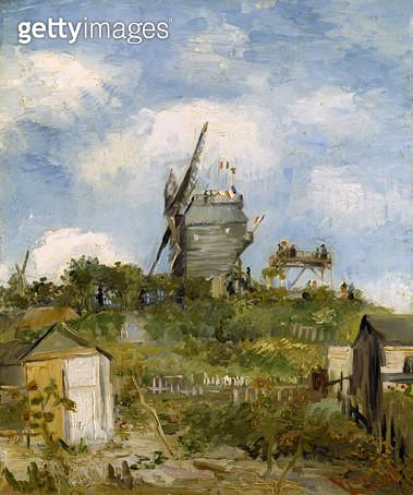 <b>Title</b> : Le Moulin de Blute-Fin, Montmartre, 1886 (oil on canvas)<br><b>Medium</b> : oil on canvas<br><b>Location</b> : Art Gallery and Museum, Kelvingrove, Glasgow, Scotland<br> - gettyimageskorea